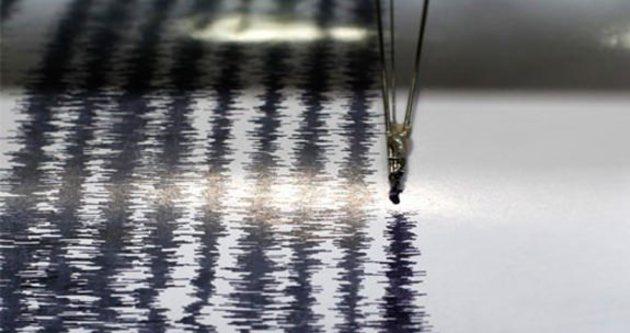 Akdeniz'de 4,4 büyüklüğünde deprem