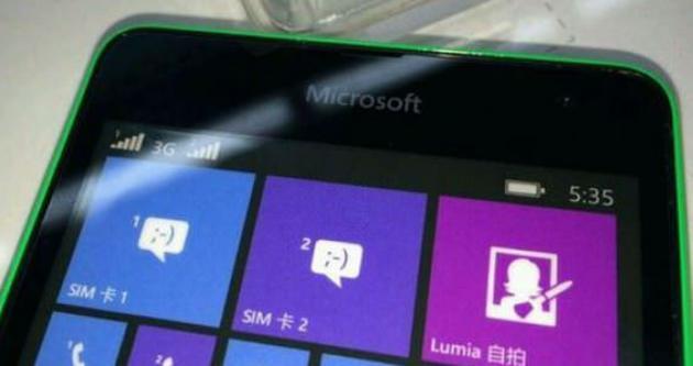 İşte Microsoft markalı ilk Lumia