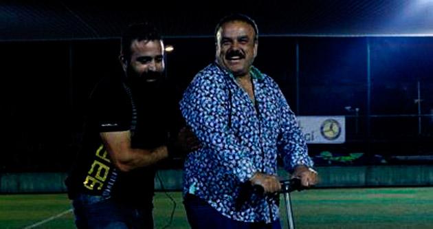 Bülent Serttaş'ın scooter macerası