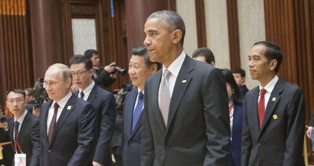 Obama: Çin'i zapt etmiyoruz