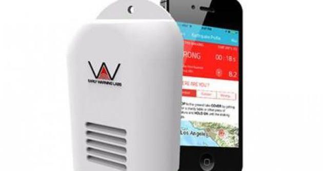 Deprem için mobil uygulama geliştirildi