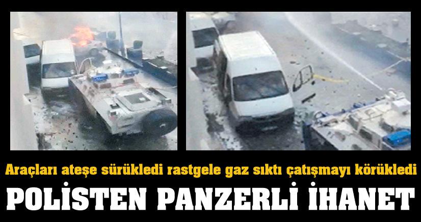 Polisten panzerli ihanet