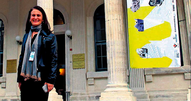 YDÜ Mimarlık Fakültesi konferansta temsil edildi
