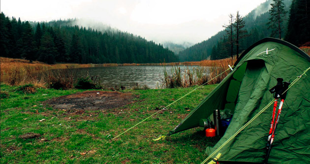 Yenice Ormanları'nda mevsim dört kamp