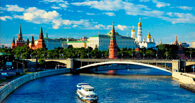 İhtişamlı Moskova'ya dans da yakıştı