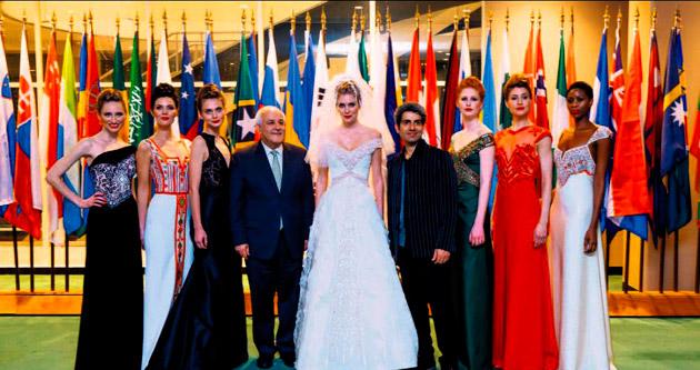 Filistin'in tarihini BM'de modayla anlattı