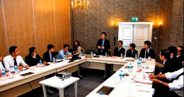 Sompo Japan Nipponkoa'nın dünya temsilcileri İstanbul'da buluştu