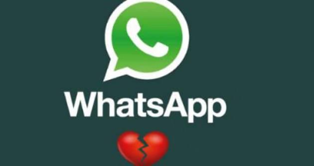 Boşanmaların yarısı WhatsApp yüzünden