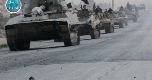 El Nusra'dan ABD silahlarıyla şov!