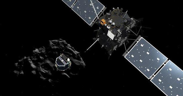 Uzay aracı kuyruklu yıldıza iniş yaptı