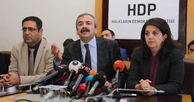 """HDP """"çözüme devam"""" dedi"""