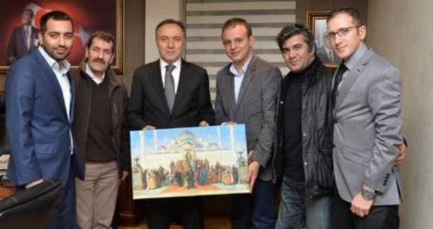 ERGEP Vali Altıparmak'ı ziyaret etti
