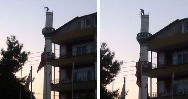 Allah'a emanet minare yıkımı