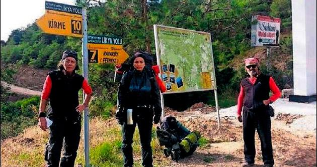 Uyuşturucu karşıtlarının Antik Likya yolu seslenişi