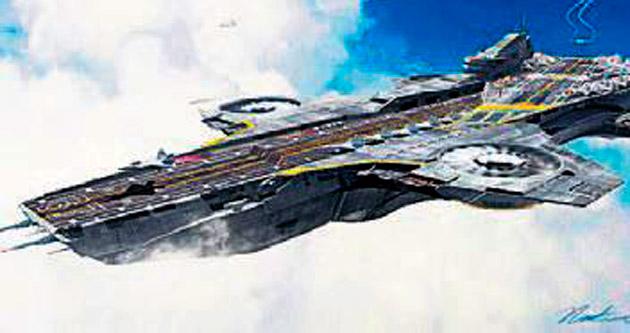 Uçma kabiliyetine sahip uçak gemisi