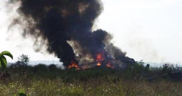 Ermenistan helikopterinin vurulma anı