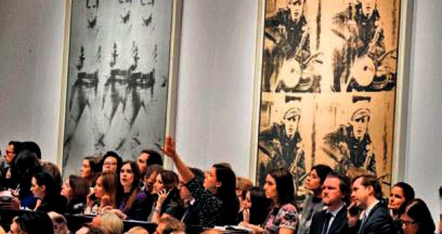 Warhol'un eserlerine 151 milyon dolar