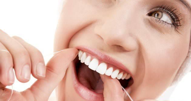 Televizyon izlerken diş ipi kullanın