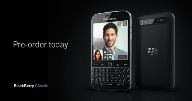 BlackBerry telefonunu ön siparişe çıkardı