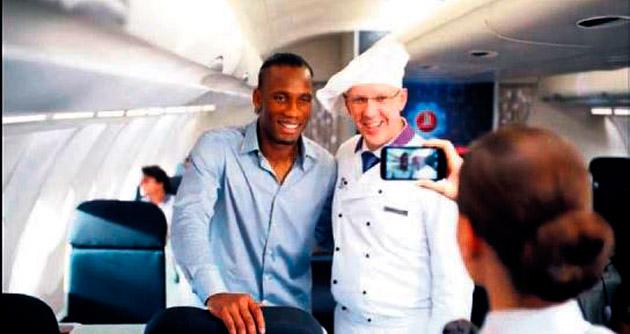 THY'nin yeni yüzü Didier Drogba oldu