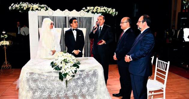 MİT Müsteşarı Fidan'ın oğlu evlendi