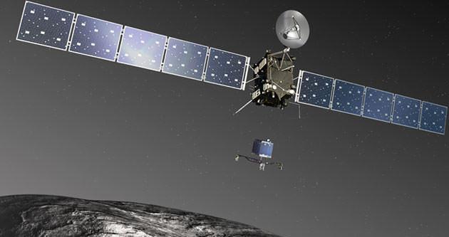 Rosetta'nın Philae'si bitti!