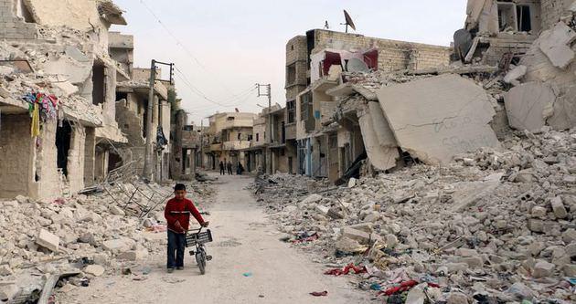 Halep düşüyor, Dünya izliyor