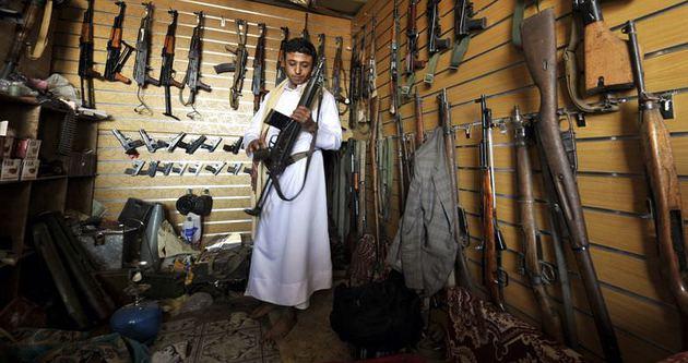 Sivillerin elinde 60 milyon silah olan ülke: Yemen