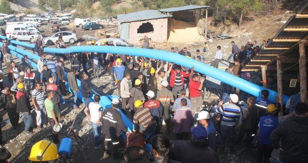 Maden faciasında 19. gün