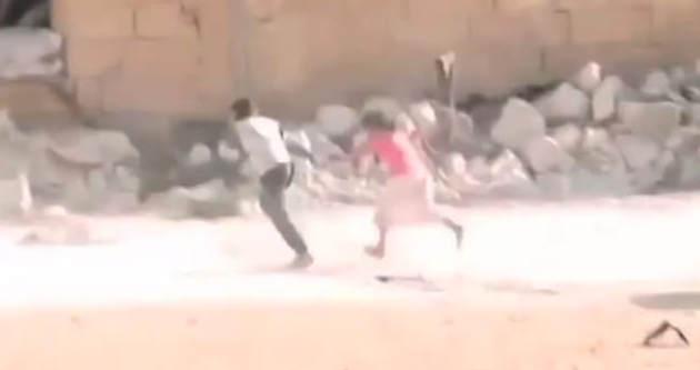 'Kahraman kardeş' videosu kurgu çıktı