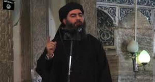 IŞİD lideri Bağdadi'nin vurulma anı