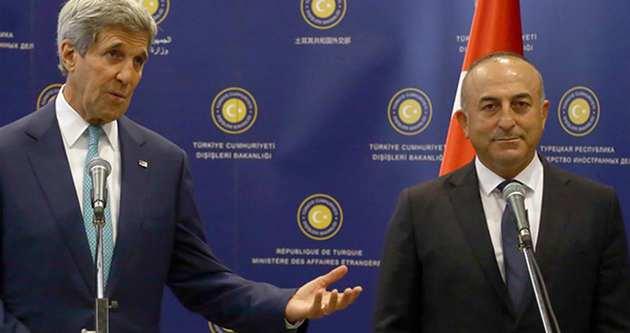 Mevlüt Çavuşoğlu John Kerry ile görüştü