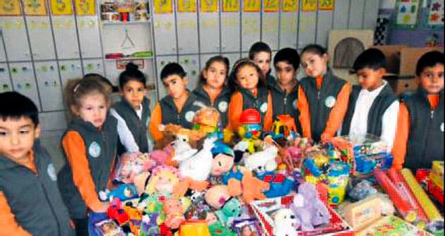 Ankara'dan Urfa'ya oyuncak yardımı