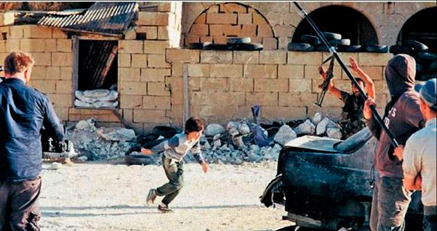 'Kahraman Suriyeli' kurgu çıktı
