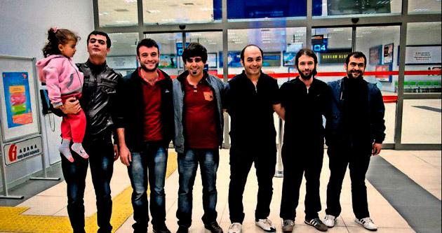 Libya'da alıkonulan 9 Türk ülkeye döndü