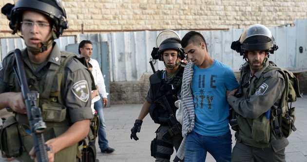 İsrail 16 Filistinliyi gözaltına aldı