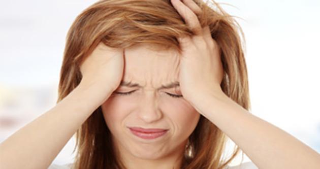 Baş ağrınız fıtık belirtisi olabilir
