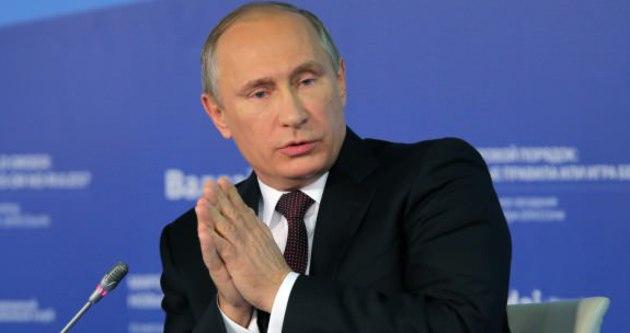 Putin ABD'ye ateş püskürdü!