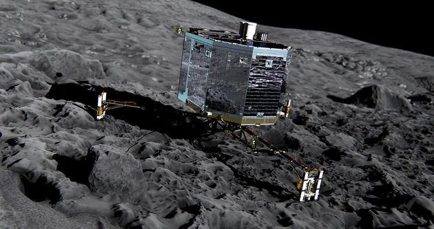 Rosetta görevinden ilginç haber