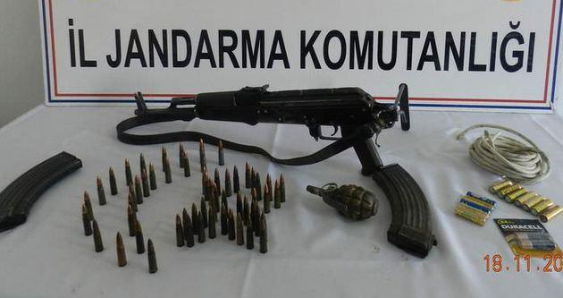 Siirt'te PKK'ya ait mühimmat bulundu