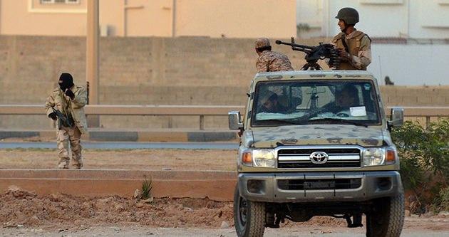 Libya'nın Bingazi kentinde 12 saatlik ateşkes