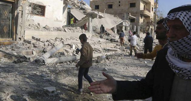 Rakka'ya hava saldırısı: 9 ölü