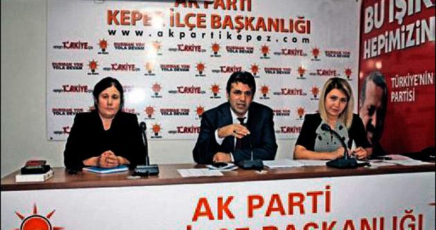 AK Parti Kepez'de görev dağılımı