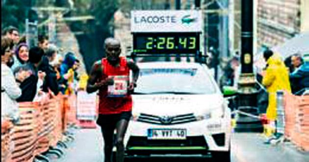 Sıfır emisyonlu maraton