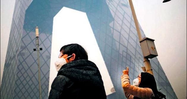 Çin'de 'APEC mavisi' bir anda griye döndü