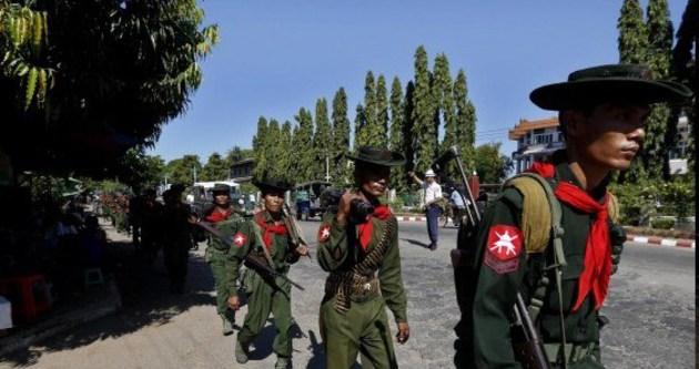 Myanmar birlikleri 22 kişi öldürdü