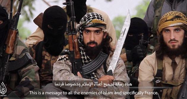 Fransız IŞİD'liler dünyayı korkuttu!