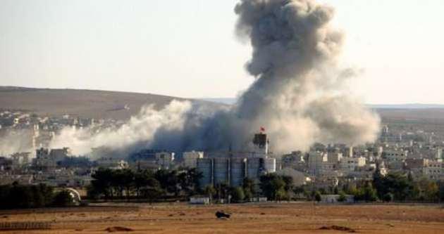 IŞİD'den Kobani'ye ağır saldırı
