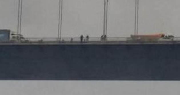 FSM Köprüsü'nde intihar girişimi