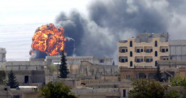 IŞİD Kobani'de saldırıya geçti
